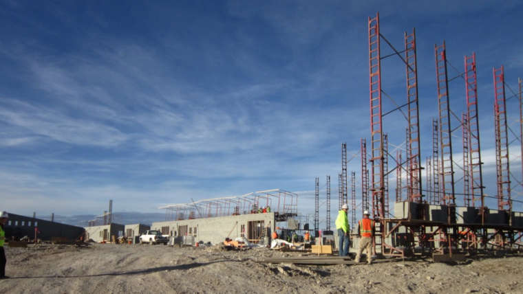 Energy Partnership firming up details of Job Corps Gas and Oil Production Field; Tour construction site